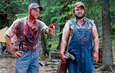 Alan Tudyk and Tyler Labine in the horror comedy 'Tucker & Dale vs. Evil '