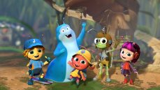 The Netflix original series 'Beat Bugs' features the music of The Beatles as covered by contemporary artists