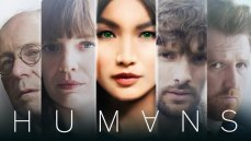 The British science fiction series 'Humans.'