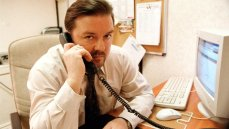 Ricky Gervais stars on the BBC comedy 'The Office'
