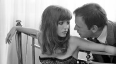 Marie-France Pisier and Jean-Louis Trintignant in Alain Robbe-Grillet's 'Trans-Europ Express'