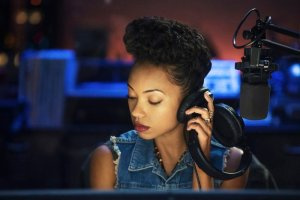 "Logan Browning in the new Netflix series ""Dear White People."""