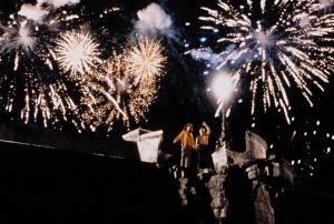 LOVERS ON THE BRIDGE, (aka LES AMANTS DU PONT-NEUF), Juliette Binoche, Denis Lavant, 1991