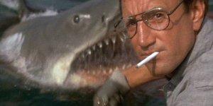 Roy Scheider, Richard Dreyfus, and Robert Shaw star in Steven Spielberg's summer blockbuster