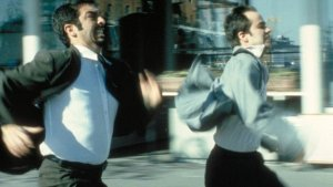Ricardo Darin and Gaston Pauls in the film by Fabian Bielinsky from Argentina