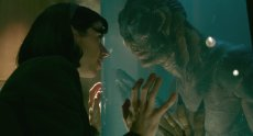 Sally Hawkins and Doug Jones in the Oscar nominated film by Guillermo del Toro