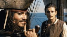 Johnny Depp and Orlando Bloom in the film from Gore Verbinksi