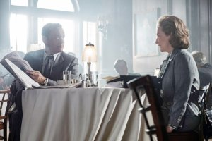 Tom Hanks and Meryl Streep in the film by Steven Spielberg