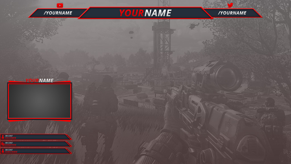 Free Twitch Overlays - Download Instantly - Streamplay Graphics