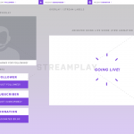 Bright Moments Stream Overlay Package