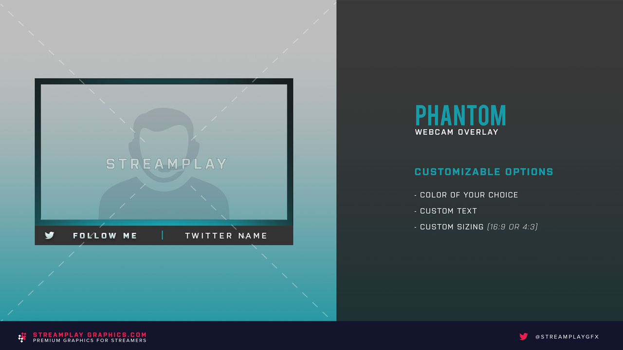 preview of the phantom webcam overlay