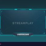 premium webcam overlay