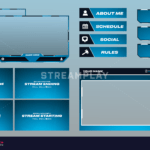 Blue Stream Overlay Package
