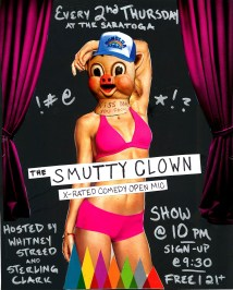 Smutty Clown poster