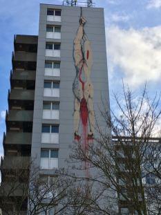 Street artist - inconnu Rue des Brigitinnes, Bruxelles
