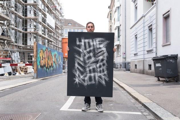 Thierry Furger - Série SGraffito ©Kolly gallery