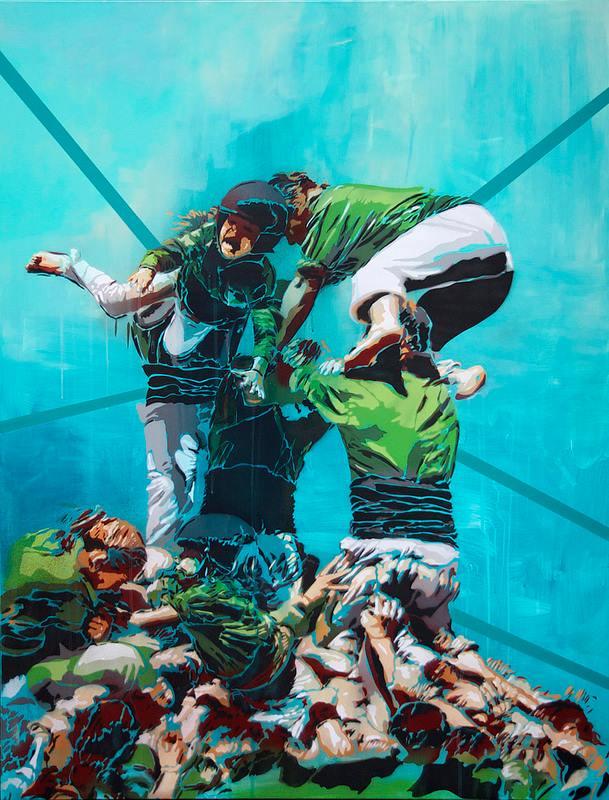 BTOY Exposition « Multitudes » Galerie N2 Barcelone, 2014