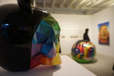 Okuda à la Ink and Movement Gallery @Ink and Movement