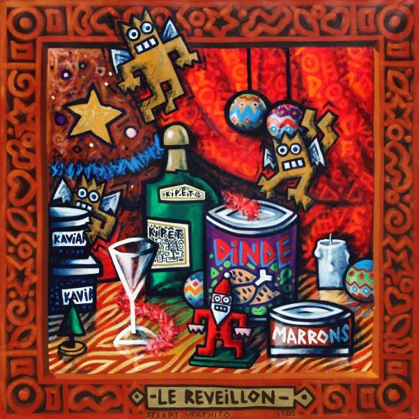 Le Reveillon 1985 150x150cm