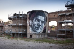 Draw, ex fabrique Mira Lanza, Rome, 2015 ©Paolo Darra