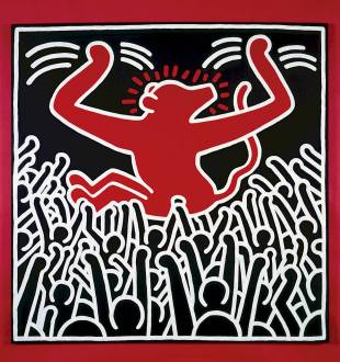 Keith Haring, sans titre, 1985 ©Keith Haring Foundation