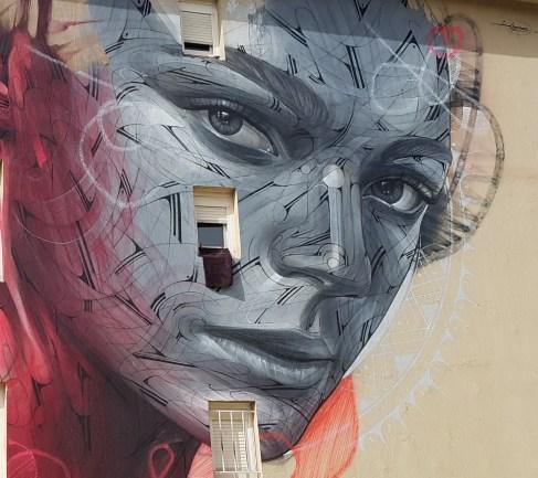 Détail de la fresque d'Hopare ©streep