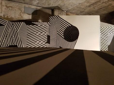 Anarchitecture (la boîte noire), salle de l'artiste Aerosept ©Streep