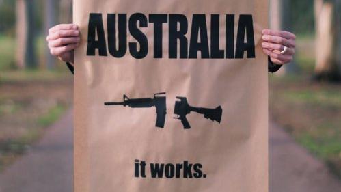 Australia it works ©Peter Drew