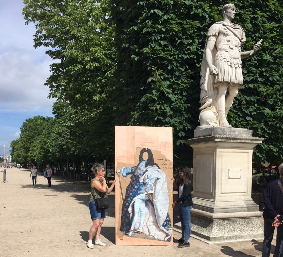 Louis XIV par Nadege Dauvergne, Jardin des Tuileries (c) Musée du Louvre