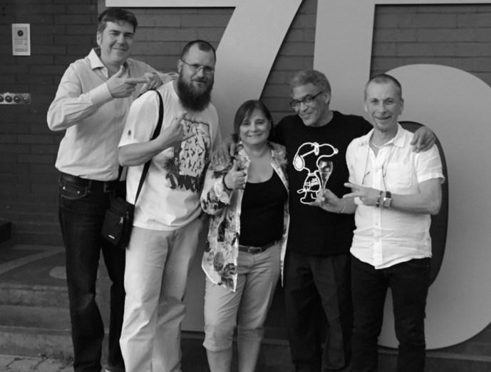 Cren, AkteOne, Carmen, Quik et François