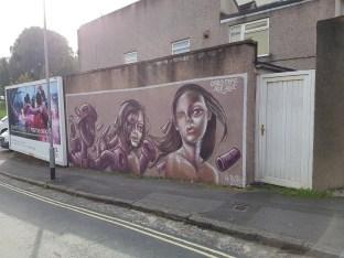 Caro Pepe, Age Age, Upfest, Bristol 2017 ©Streep