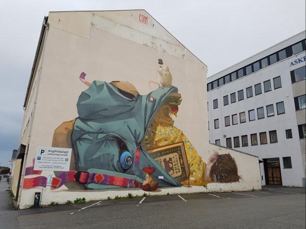 Etam, Nuart Festival, Stavanger, Norvège ©Streep