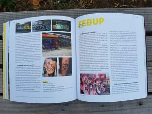 La graffeuse Fedup ©Streep