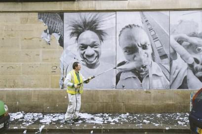 JR 28 Millimètres, Portrait d'une génération, Kärcher Série, 2006 © JR-ART.NET