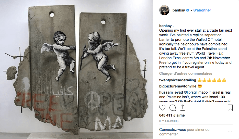Screenshot_2018-11-09 Banksy sur Instagram Opening my first ever stall at a trade fair next week I've painted a replica sep[...]