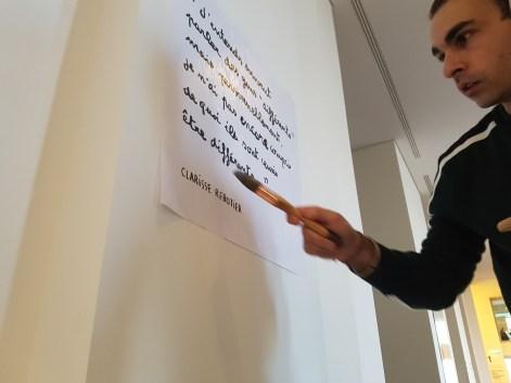 Dugudus signe aussi la scénographie de l'exposition ©Streep