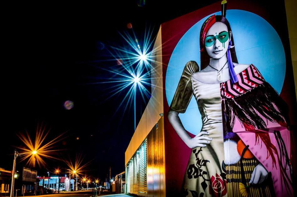 by @jsnapsnz of Selenaia for #streetprintsmanaia