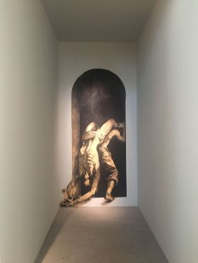 "Exposition ""Ecce Homo"" - Ernest Pignon-Ernest © Radio France - Rauma Nolhent"