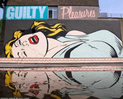 D*Face, Guilty Pleasures, Londres, 2013 ©maquisart