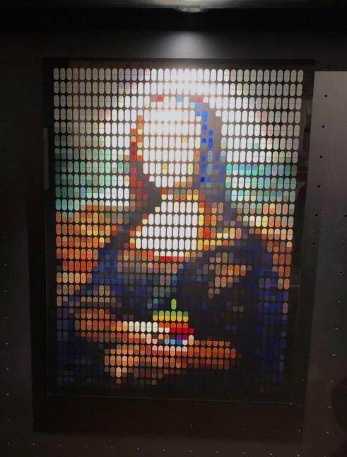 The Addiction of Mona Lisa, Speedy Graphito, 2019 ©Streep
