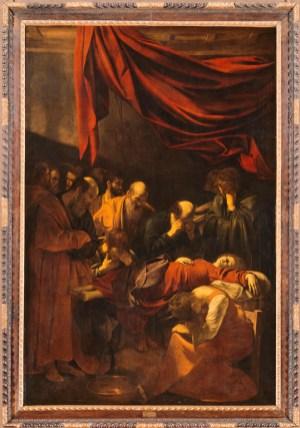 La mort de la vierge, Caravage, musée du Louvre, Paris, 1606