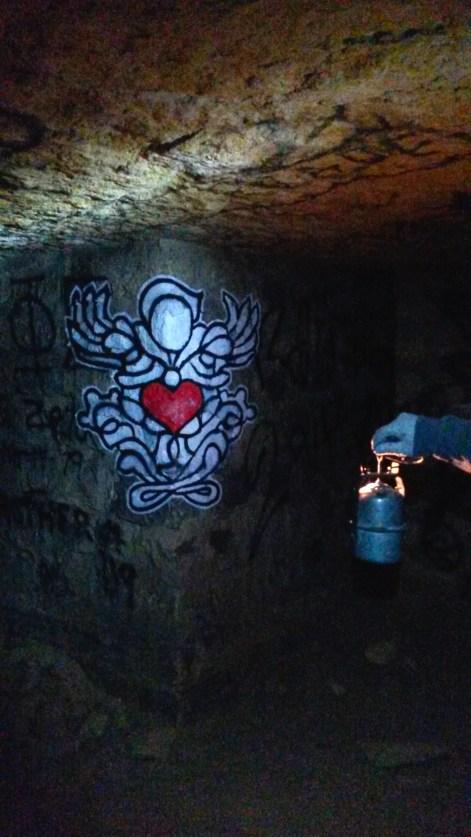 Personnages de Psy, catacombes de Paris @Streep