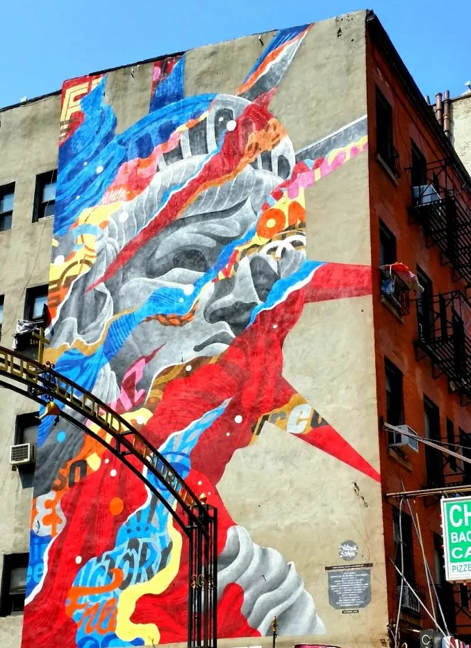 Tristan Eaton Liberty New York