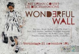 expo wonderful wall affiche