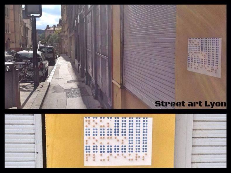 Du braille pour le street art