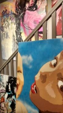 peinture big ben street art