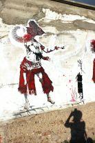 Perf street art - festival Passeur'elles - Roanne 2014