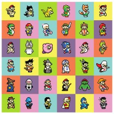 36 Marios In the woup