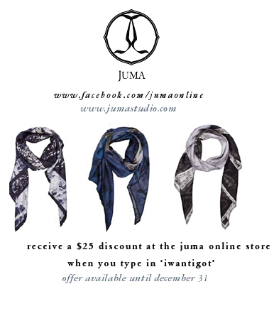 Wear Juma Scarves in the Winter for a far away warm