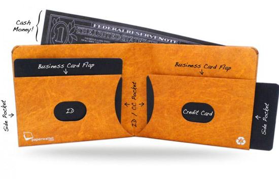 Paper Wallet in Brown